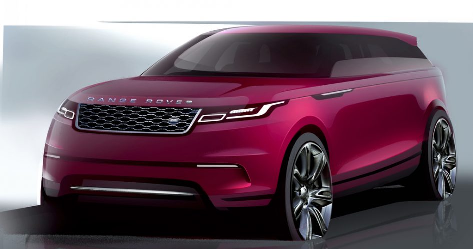 The Velar sketched in crayon